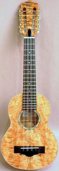 Richard V Clarke Mango Tiple ukulele #LardysWishlists ~ https://www.pinterest.com/lardyfatboy/ ~