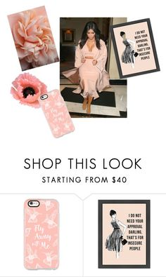 """DRESSES IN PEACH"" by ashleyyjames ❤ liked on Polyvore featuring Casetify"