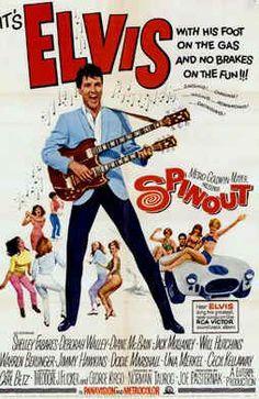 Elvis Presley movie posters | Starred in Spinout with Elvis on 11 May, Deborah Walley lost her ...