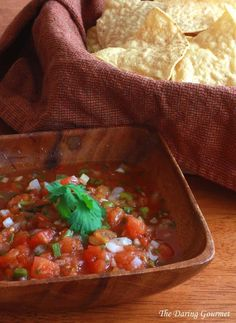 restaurant style Mexican salsa recipe homemade fresh