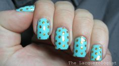 The Lacquerologist: Abstract Nail Art Challenge Day 6: Dots