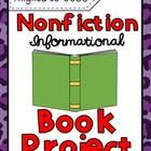 Nonfictional Informational Book Report Project