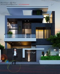 Modern House Designs In Punjab. 20 Modern House Designs In Punjab. Home Design Home Design In Punjab Modern Small House Design, Modern Exterior House Designs, Latest House Designs, 3 Storey House Design, Bungalow House Design, House Outside Design, House Front Design, Modern Bungalow House, Modern House Plans