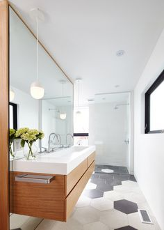 Contemporary Bathroom by post Architecture