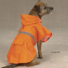 $15.35-$24.99 Heavy-duty, waterproof vinyl Guardian Gear® Rain Jacket keeps pets dry in wet weather and saves owners from the hassle of wet dog smell and extra coat maintenance.
