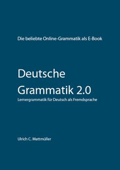 Deutsche Grammatik 20 - Cover