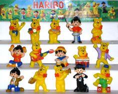 Haribo Sommerfest, Fremdfiguren  Komplettsatz, 1 BPZ, 2005