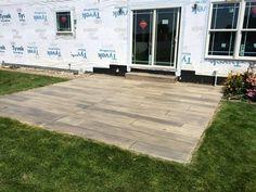 Custom Concrete Wood Patio- Innovative Spaces- Elgin IL