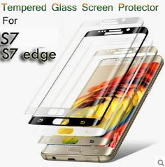3D Full Cover Tempered Glass Film for Samsung Galaxy S7 S7 edge Colorful SP026 #UnbrandedGeneric