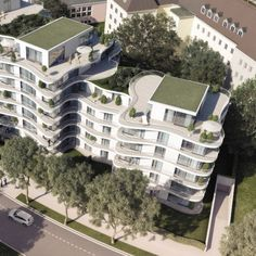Projekte - GSP Architekten Multi Story Building, Mansions, House Styles, Home Decor, Architects, Projects, Decoration Home, Manor Houses, Room Decor