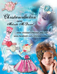 www.christiencollection.etsy.com Child Model Magazine ask my shop to be in there magazine