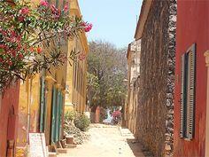 Ile de Gorée-- louer une maison et passer un weekend sur l'ile de Goree- Senegal…