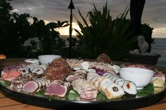 Namotu Island in Fiji rolls some of the freshest #sushi and #seafood around!