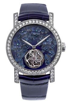 With more categories than ever devoted to ladies, the calibre of women's watches shortlisted for the Grand Prix d'Horlogerie de Geneve is stronger than ever. Stylish Watches, Luxury Watches, Watches For Men, Women's Watches, Diamond Watches, Nice Watches, Ladies Watches, Amazing Watches, Beautiful Watches