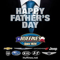 From all of us at Huffines, We hope you have a great #FathersDay Weekend!