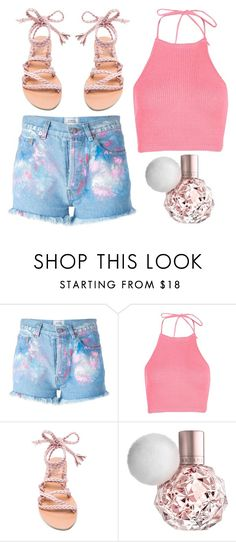 """""""Untitled #704"""" by justinbieber-zaikara on Polyvore featuring Forte Couture, Boohoo and Ancient Greek Sandals"""