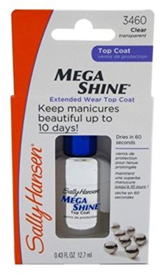 Sally Hansen 3460 Mega Shine Nail Treatment Pack of 3 >>> More info could be found at the image url.