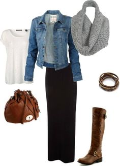 Trendy and stylish spring outfit ideas are already in fashion. Gear up for your spring look with the latest spring clothing and outfit ideas. Check inspiring roundup of dresses, skirts, Boho outfits and tops. Maxi Skirt Outfits, Modest Outfits, Modest Fashion, Casual Outfits, Cute Outfits, Fashion Outfits, Womens Fashion, Maxi Skirts, Long Skirts