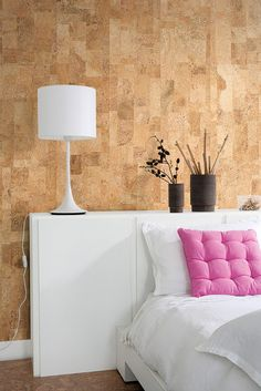 cork paneling for ceiling maybe? Better than the current popcorn ceiling...