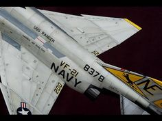 Painting & weathering scale models: Aircrafts base color paint. Navy F-4J (HD). - YouTube