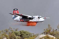 """(T-73) Grumman S-2F3AT """"Turbo Firecat"""" (N437DF) Cal Fire, Air Tanker (3)"""