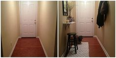How to Decorate Your Small & Narrow Entryway!