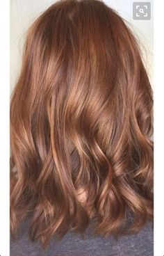 Caramel color with highlights