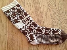 Sherlock BORED wallpaper socks pattern knitting