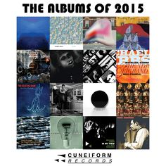 """This special """"Name Your Price"""" compilation album, 'The Albums of 2015', features 1.5 hours of creative and fun music over the course of 16 tracks all of which was released or reissued by Cuneiform Records in 2015. Immediately download it, right here: https://cuneiformrecords.bandcamp.com/album/the-albums-of-2015"""