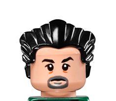 LEGO LEX CORP HENCHMAN 2 HEAD (series 2)