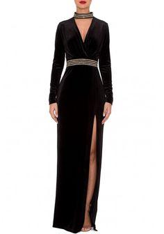 Genese London Azura Dress in Black