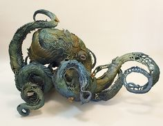 Sculptor Ellen Jewett, a self-described natural history surrealist, has created a gorgeous line of handmade surreal animal sculptures that reflect a strong element of realism that bring forth the a...