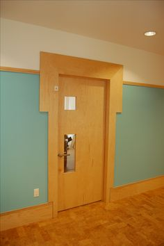 "George Ranalli Architect project for Chelsea Day School featuring custom door hardware ""Lock-it"""
