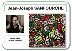 Sanfourche - Portrait d'artiste Plus Middle School Art, Art School, Art Lessons For Kids, Art For Kids, Art Mat, Art Worksheets, Ecole Art, Plastic Art, Meet The Artist