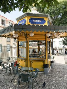 After spending the summer in Portugal, we've created the Ultimate Lisbon Bucket List. Find the best things to do in Lisbon, conveniently organized by neighborhood. Kiosk Design, Signage Design, Design Design, Graphic Design, Portugal Vacation, Portugal Travel, Spain Travel, Travel Europe, Stuff To Do