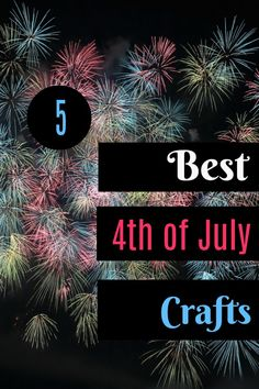 5 Best of July Crafts ~ Need something to do with your kids this weekend? Try one of these fun (and easy) kid friendly crafts Diy Craft Projects, Craft Tutorials, Diy Crafts, 4th July Crafts, Fourth Of July, More Fun, Something To Do, Crafting, Entertaining