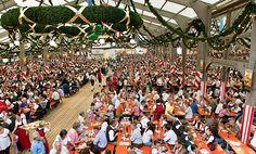 Herbstfest Rosenheim - Bierzelt auf dem Rosenheimer Herbstfest, © Chiemsee-Alpenland Tourismus