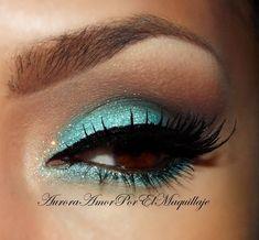 Prom eye shadow makeup