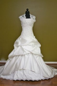 LOOOOOVEE! Modest Wedding Gowns - Elizabeth Cooper's Boutique