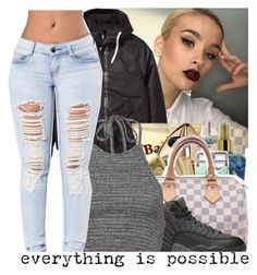 """""""✊.."""" by baaaditori ❤ liked on Polyvore featuring NIKE"""
