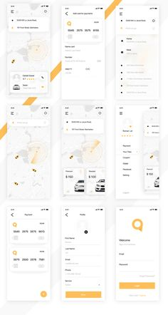 png by Roman Lel Android App Design, Ios App Design, Iphone App Design, Interface Design, Mobile Application Design, Mobile Ui Design, App Home Screen, Driver App, Application Design