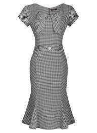 Resultado de imagen para skinny fit dress Style 50's Vintage