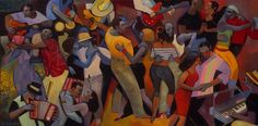 Gary Kelley Such an artist. African American Artist, American Artists, University Of Northern Iowa, Dance Paintings, Funky Art, My Black Is Beautiful, Love Art, Art Blog, Painting Inspiration