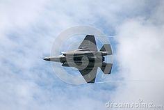 Lockheed Martin F-35 Lightning II at Farnborough airshow 2016