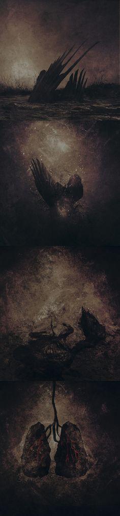 """Artwork for Katatonia """"Kocytean"""""""