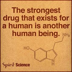 The Strongest Drug That Exists For A Human Is Another Human Being Quotes About Love And Relationships, Relationship Quotes, Political Ideology, Another A, Science Quotes, Thing 1, Spirit Science, Life Thoughts, Mindfulness Quotes