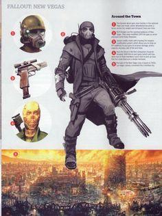 NCR Concept - Fallout: New Vegas Concept Art