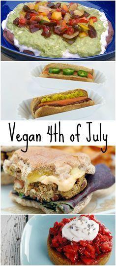 482 Best Vegan 4th Of July Images In 2019 Vegan Recipes