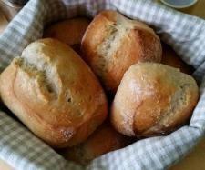 Rezept Dinkelbrötchen über Nacht von Heikeline - Rezept der Kategorie Brot & Brötchen