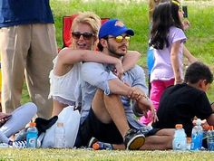 Britney Spears Watches Her Boys Play Soccer With Her Boyfriend